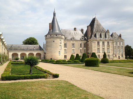 France, Chateau, Castle, Landmark, Historic