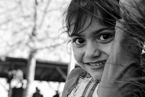 Girl, Female Child, Smile, Portrait, Candy, Child, Face