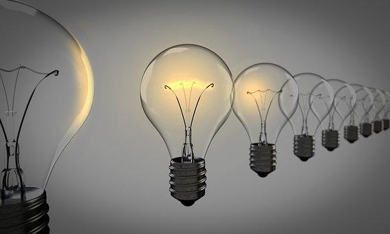 Light Bulbs, Chosen, Bulb, Success, Light, Group