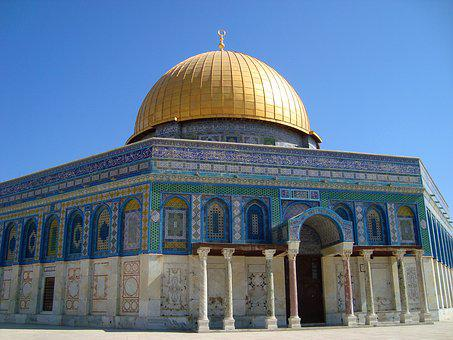 Dome Of The Rock, Jerusalem, Israel, Dome, Rock, Temple