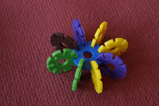 Plug Flower, Toys, Stacking Game, Children Toys