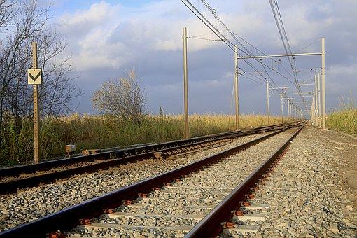 Railway, Train, Track, Traveling, Line, Switch