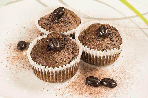 Muffin, Coffee, Cappuccino, Pastries, Coffee Beans