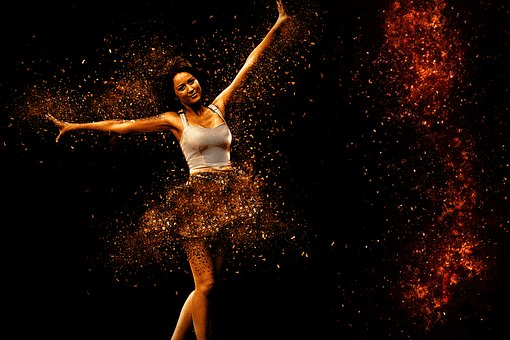 Woman, Ballet, Dance, Dynamics, Swing, Movement, Sport