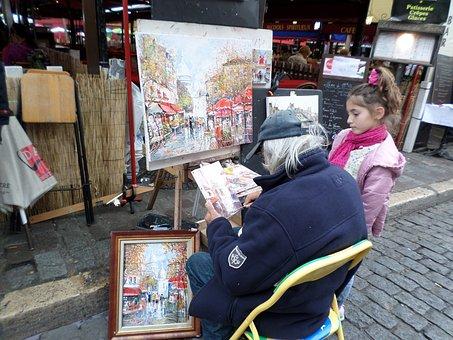 Montmartre, Hill, Paris