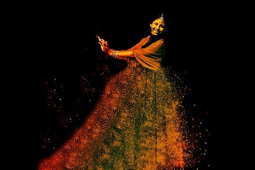 Woman, Dance, Dynamics, Swing, Movement, Sport