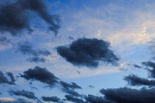 Clouds, Sky, Dark Clouds, Before The Rain, Storm, Wind