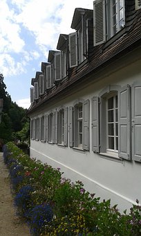 Hesse, Bensheim, Auerbach, Princes Camp, Summer, Home