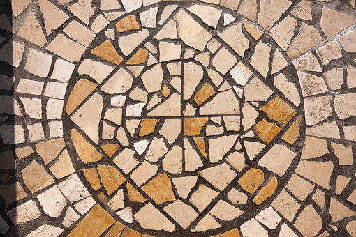 Mosaic, Stone, District, Square, Ornament, Ground