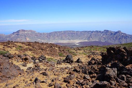 Read Cañadas, Caldera, Teide National Park, Lava Fields