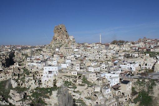 Turkey, Cappadocia, Ortahisar, District, Otelleri