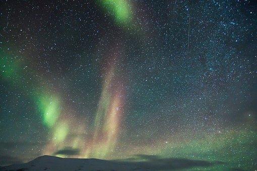 Adventure, Aurora, Auroras, Northen Light, Scooter