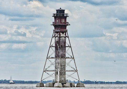 Tower, Bay, Water, Ships, Travel, Historic, Historical
