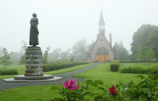Grand Pre, Acadian, French, Church, Grand, Canada