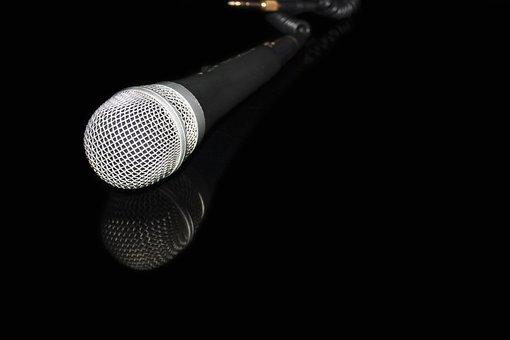 Microphone, Music, Karaoke
