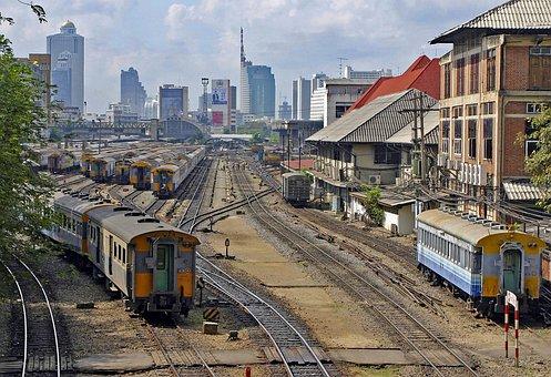 Main Train Station, Railway, Bangkok