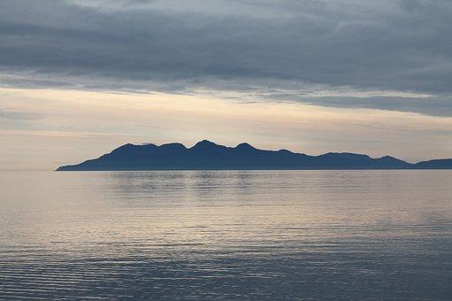 Scotland, Hebrides, Sea, Island