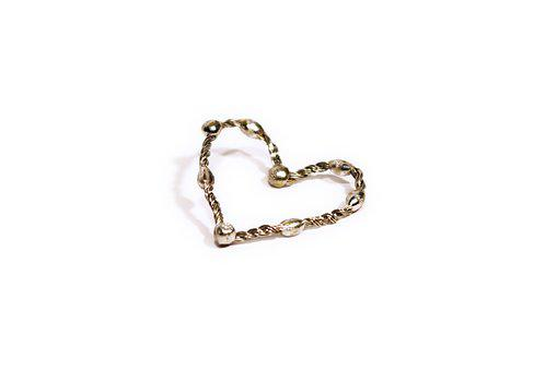Jewel, Heart, Sweetheart, Luxury, Wire Heart, Wire, Tin
