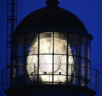 Lighthouse, Kullen Lighthouse, Evening, Kullabygden