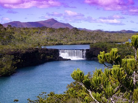 New Caledonia, Landscape, Scenic, Mountains, Plants