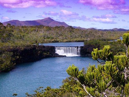 New Caledonia, Landscape, Scenic, Mountains, Plants