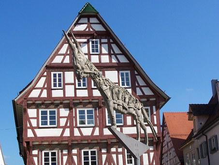 Half-timber, House, Germany, Building, Architecture