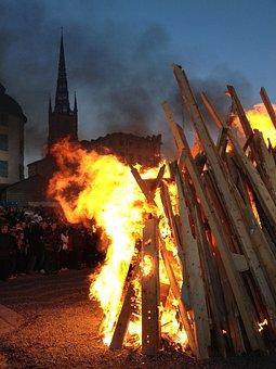 Valborg, Bonfire, Riddarholmen, Stockholm, Fire, Sweden