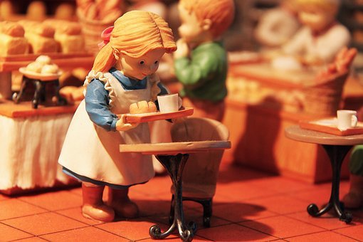 Cute, Interesting, City, Miniature Bakery Masterpiece