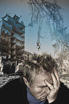 Earthquake, Disaster, Despair, Anguish, Sadness, Help