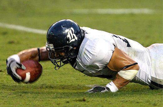 Stretching, First Down, Football Player, Athlete, Game