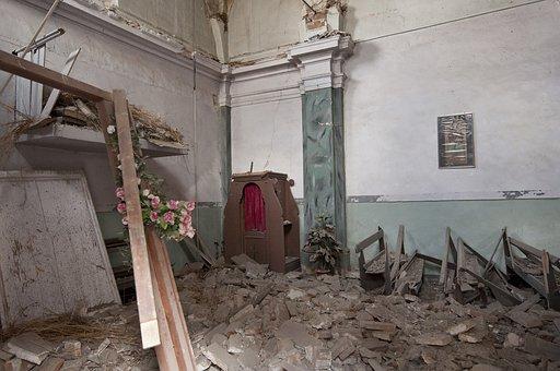 Earthquake, Rubble, L'aquila, Collapse, Disaster, House