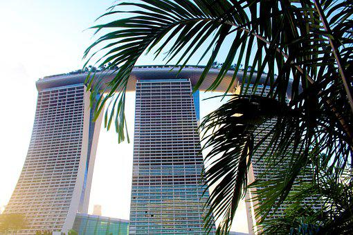 Singapore, Marina Bay Sands Hotel, Hotel