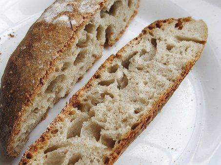 Bread, Sourdough, Fresh, Food, Loaf, Organic, Bakery