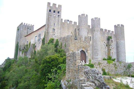 óbidos, Castle, Portugal
