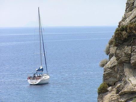 Greek Island, Kos, Sailor, Sea Beach, Water, Coast