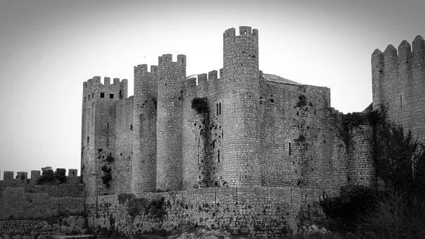 Obidos, Portugal, Castle, Historically, Tourism