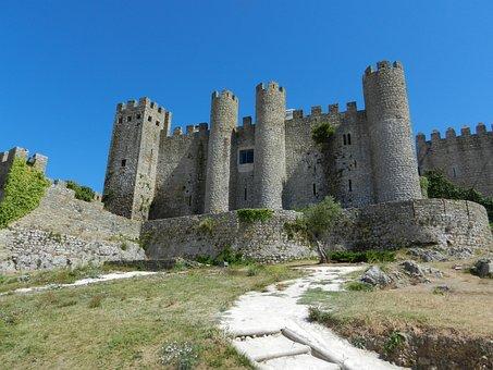 Castle, Obidos, Portugal
