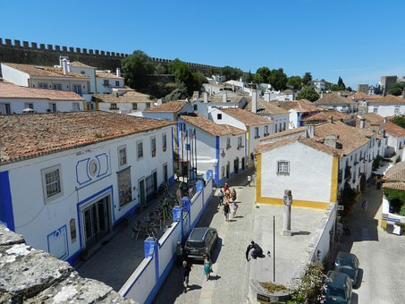 Obidos, Portugal, City