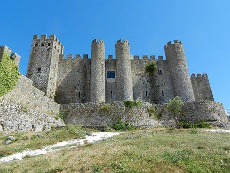 Fortress, Obidos, Portugal, Castle