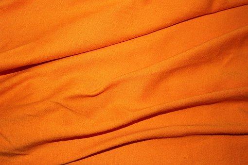Orange Textile Background, Background, Wallpaper