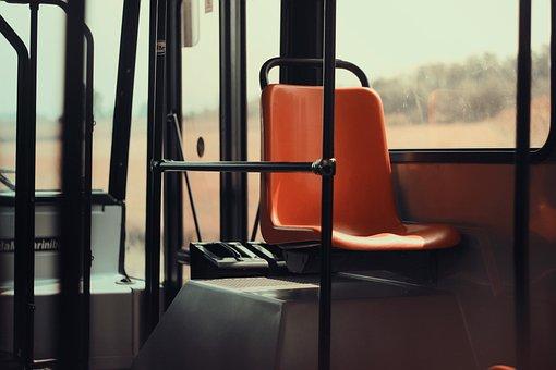 Seat, Public Transport, Bus, Vehicle, Interior