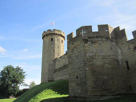 Warwick Castle, Castle, Rural, England
