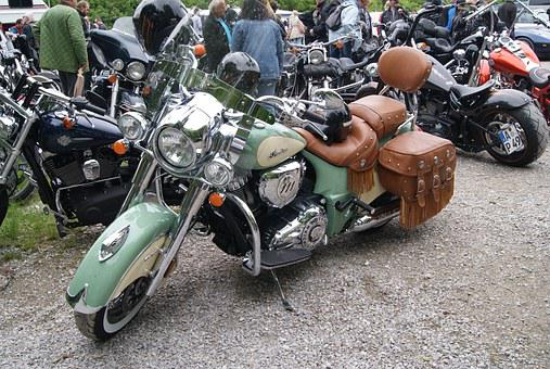 Indian, Motorcycle, Locomotion