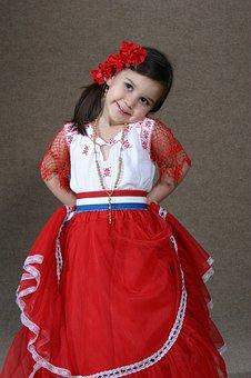 Childhood, Paraguay, Latin America, Dress Up, Ostume