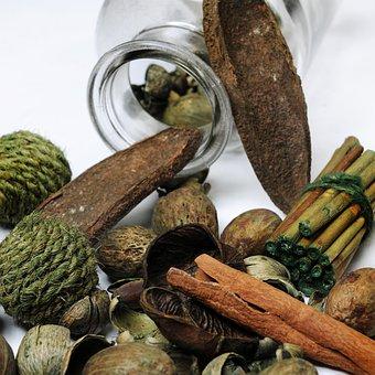 Decoration, Natural Materials, Wood, Shades Of Brown