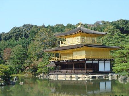 Golden Pavilion Temple, World Heritage, Japan