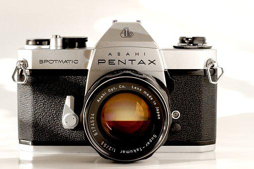 Camera, Analog, Pentax, Lenses, Old, Old Camera