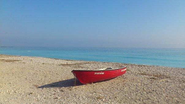 Sea, Beach, Ships, Boats, Is