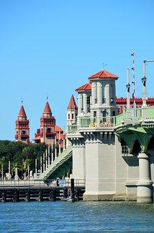 Bridge Of Lions, St Augustine, Florida, Tourism