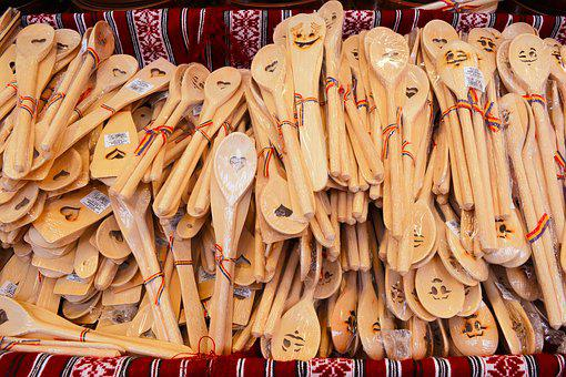 Wooden Spoons, Spoons, Traditional, Smiles, Fretsaw